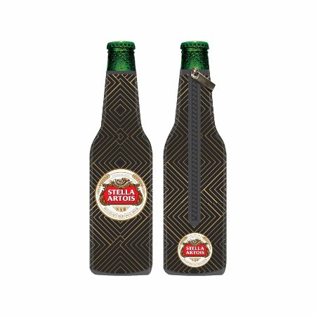 Porta Long Neck de Neoprene Stella Artois