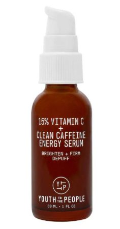 YOUTH TO THE PEOPLE 15% Vitamin C + Clean Caffeine Energy Serum