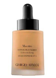 GIORGIO ARMANI BEAUTY Maestro Fusion Makeup Octinoxate Sunscreen SPF 15