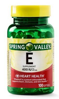 SPRING VALLEY Vitamin E 100cap