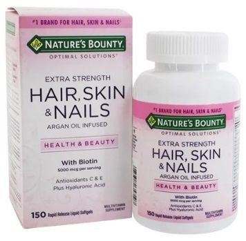 NATURE´S BOUNTY Optimal Solutions Hair Skin & Nails 150cap