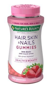 NATURE´S BOUNTY Optimal Solutions Hair, Skin & Nails 140gummies