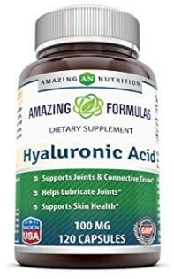 AMAZING FORMULAS Hyaluronic Acid 100mg 120cap