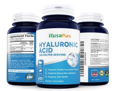 NUSAPURE Hyaluronic Acid 200mg 180cap
