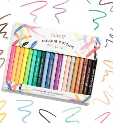 COLOUR POP Cololur Outside The Liner Collection
