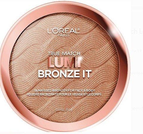 L'Oreal Paris True Match Lumi Bronze It Bronzer, Medium