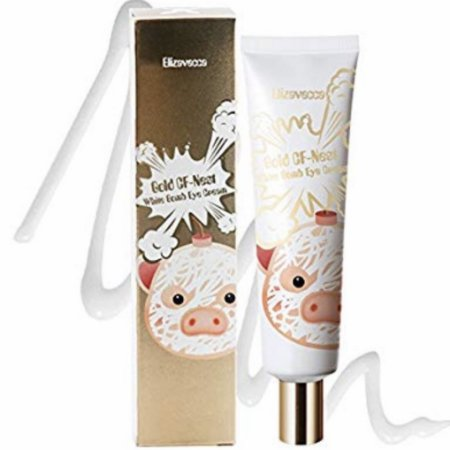ELIZAVECCA Gold CF-Nest White Bomb Whitening Wrinkles Functionality Eye Cream