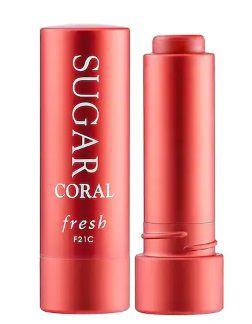"""FRESH Sugar Lip Treatment Sunscreen SPF 15 """"CORAL"""""""