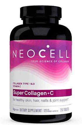 NeoCell Super Collagen + C - 6,000mg Collagen Types 1 & 3 Plus Vitamin C - 250 cap
