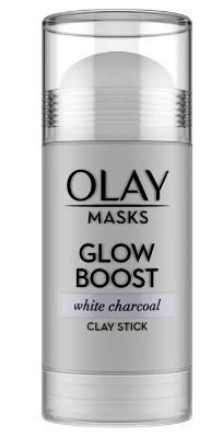 OLAY Glow Boost White Charcoal Clay Face Mask Stick Facial Cleanser