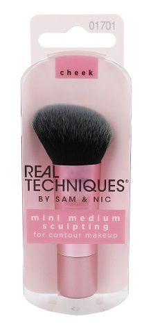 REAL TECHNIQUES by Sam & Nic Chapman Mini Medium Sculpting Brush