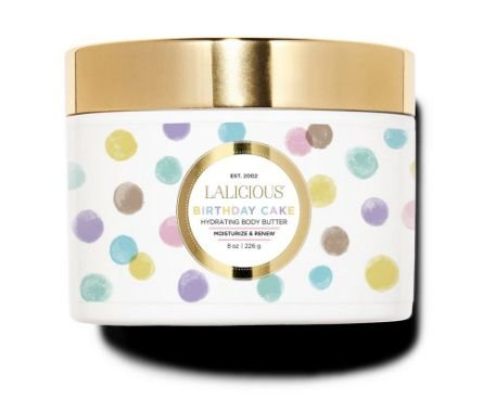 LALICIOUS Birthday Cake Hydrating Body Butter