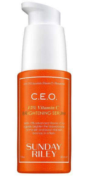 SUNDAY RILEY C.E.O. 15% Vitamin C Brightening Serum