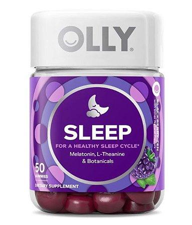 OLLY Sleep Vitamin Gummies with 3mg Melatonin, 50 ct