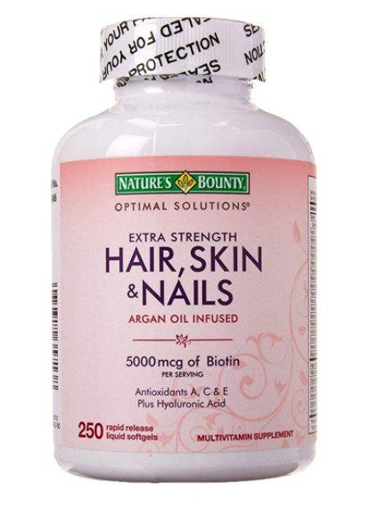 NATURE´S BOUNTY Optimal Solutions Hair Skin & Nails 250cap