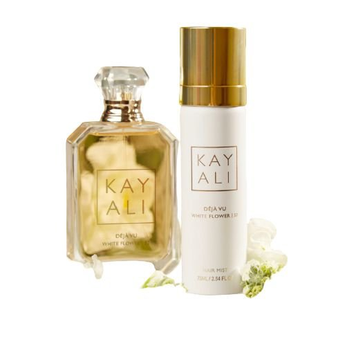 HUDA BEAUTY Kayali Déjà Vu White Flower | 57 Set