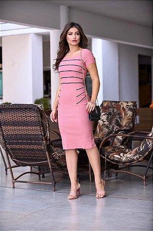 Vestido midi Secretaria