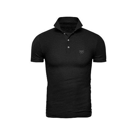 Camisa Polo Phox Premium Preta - 1010-01