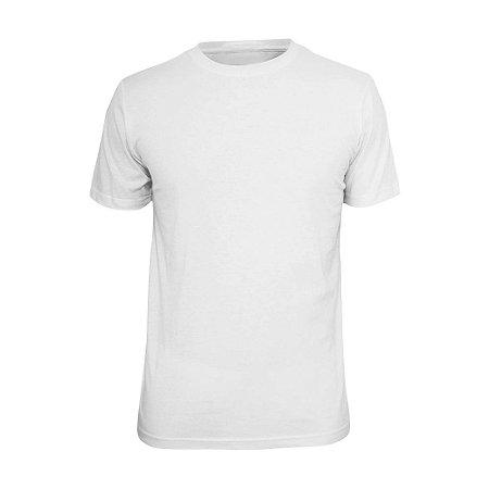 Camiseta Básica Lisa Phox Branca - 1030 - 02