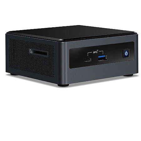 Mini PC NUC - Intel Core I5-10210U - 8GB - SSD 240GB - Rede - Wi-fi – BT - Windows 10 Pro
