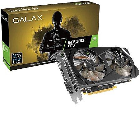 Placa de Vídeo NVIDIA GeForce Galax GTX 1660 OC 6GB GDDR5 192BIT HDMI, DVI-D, DP