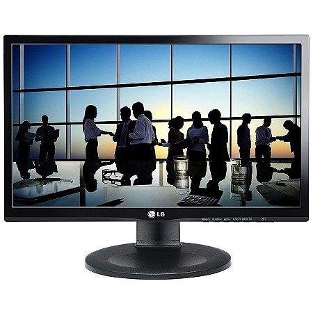 """Monitor LG 21.5"""" LED IPS Full HD Widescreen Ajuste de Altura e Pivot 22MP55PJ"""