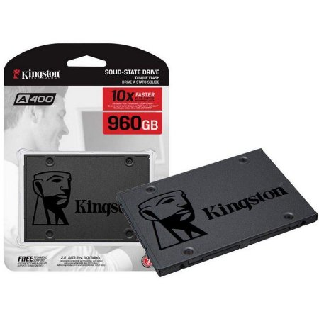 "SSD Kingston 960GB 2,5"" SATA 6 Gb/s A400 SA400S37/960G"