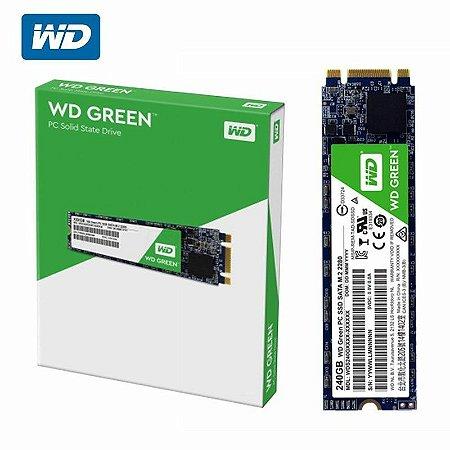 SSD WD Green 240GB M.2 2280 SATA 6 Gb/s 3D WDS240G2G0B
