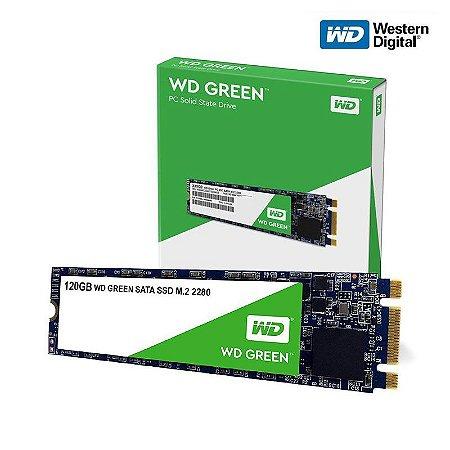 SSD WD Green 120GB M.2 2280 SATA 6 Gb/s 3D WDS120G2G0B