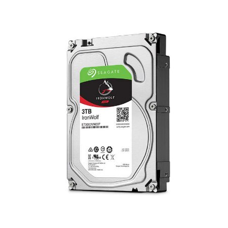 "HD Seagate Backup NAS IronWolf 3TB SATA 6GB/s 3.5"" ST3000VN007"