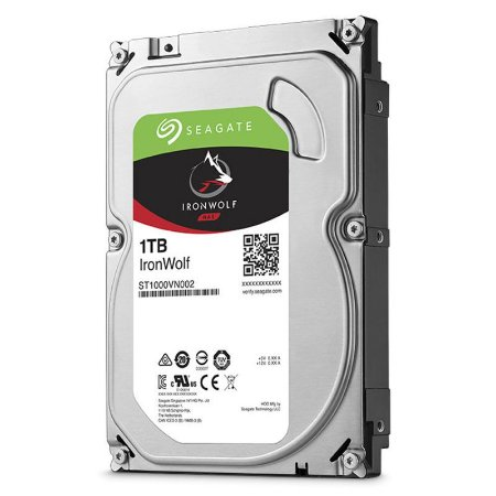 "HD Seagate Backup NAS IronWolf 1TB SATA 6GB/s 3.5"" ST1000VN002"