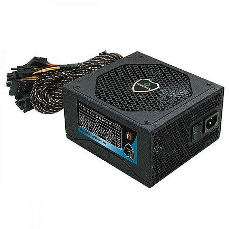 Fonte Gamemax 500W Reais 80Plus Bronze GM500