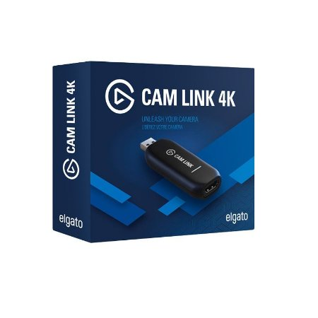 Adaptador de Video Elgato Cam Link 4K HDMI USB - 10GAM9901