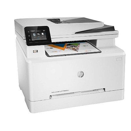 Impressora Multifuncional HP Laserjet Pro M281FDW Laser Color Wi-Fi Rede Duplex