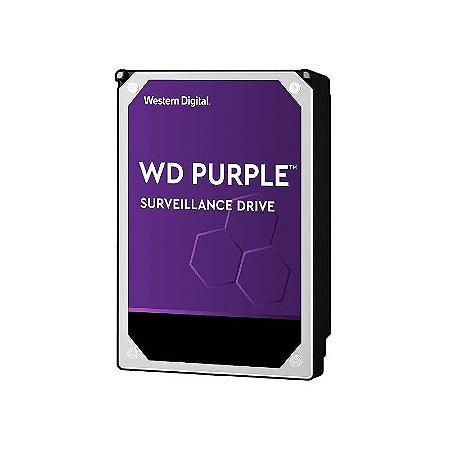 """HD WD Purple para CFTV 10TB SATA 6GB/s 3.5"""" WD101PURZ"""