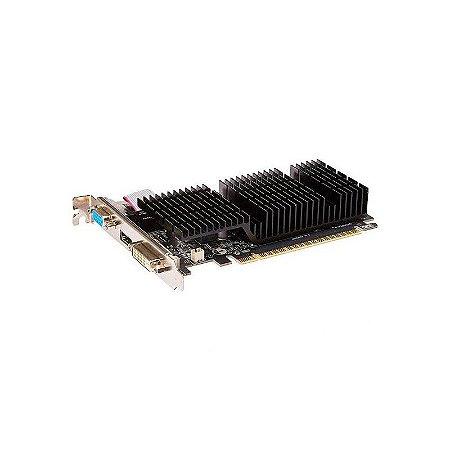 Placa de Vídeo NVIDIA GeForce Galax GT 710 1GB DDR3 64BIT HDMI, DVI, VGA