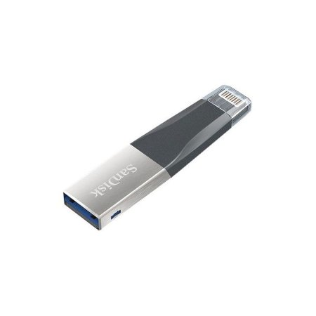 Pendrive iXpand 16GB Sandisk USB 3.0/Lightning Preto