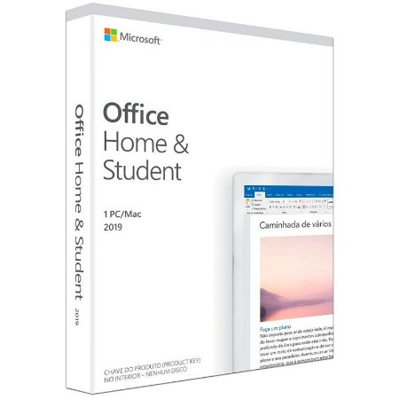 Microsoft Office Home and Student 2019 FPP 32/64Bits