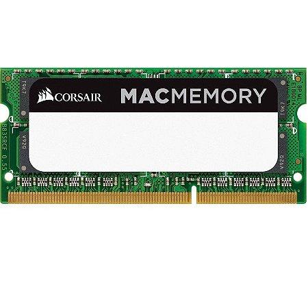 Memória Corsair Para MAC 8GB DDR3 1600MHz