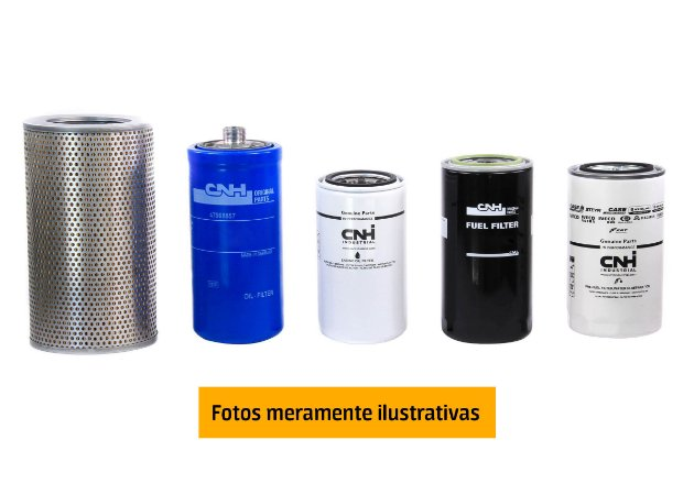 Kit Revisão Retroescavadeiras B95B e B110B - 500H