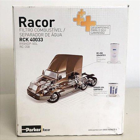 Kit Sep Agua/F Comb ( RCK-40033 ) RACOR