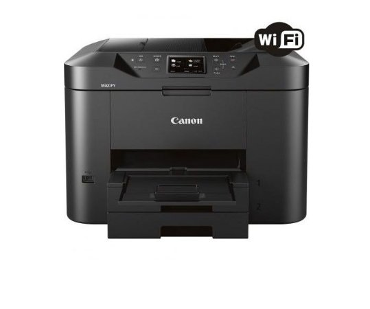 Impressora Multifuncional Canon Maxify MB2710 Jato de Tinta Colorida Wireless Com Bulk Ink 300ML DE CADA COR