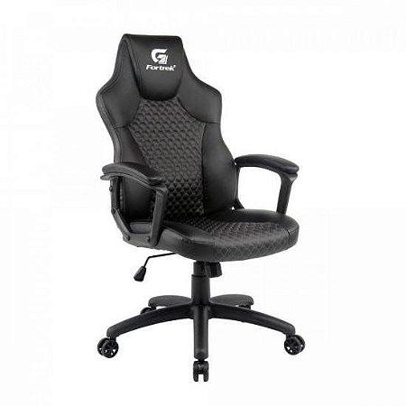 Cadeira Gamer Holt Preta/Cinza FORTREK