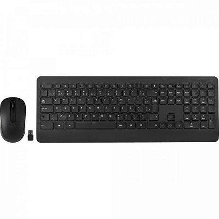Kit Teclado + Mouse sem Fio USB 900 Preto MICROSOFT