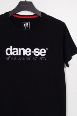 camiseta dane-se BH preto