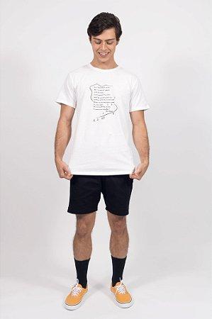 camiseta poema da curva on off