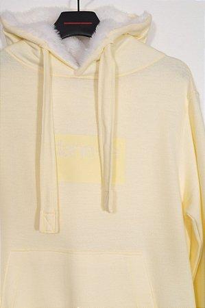 casaco moletom dane-se cv amarelo