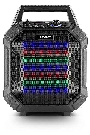 Caixa amplificada emborrachada frahm – pb400