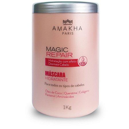 Máscara Hidratante Magic Repair 1 Kg Amakha Paris Colágeno