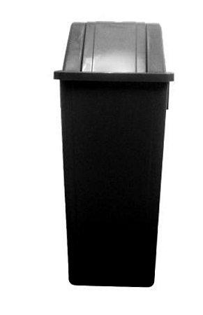 Lixeira / Coletor Basculante 60 Litros Sem Adesivo Bralimpia